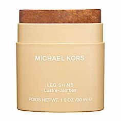 Michael Kors - Leg Shine  #sephora (Perfect scent to carry around since it is a solid. I don't use it on my legs, I use it on my pulse points.)