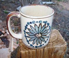 Otagiri Sunflower Mug Cup Great Blue Sunflower Mug by ChinaGalore, $15.75