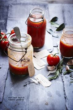 Tomato Passata | the food dept.