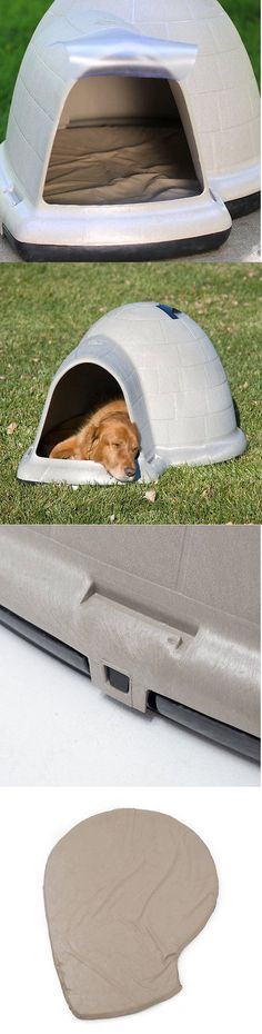 Dog Houses 108884: Igloo Dog House For Large Dogs With Pillow Pad Insulated Big Door Complete Kit -> BUY IT NOW ONLY: $248.99 on eBay!