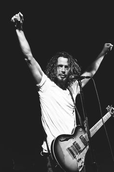 $15 - Chris Cornell Soundgarden Print Hd Art Poster 24Inx18In/36Inx24In Print #ebay #Collectibles
