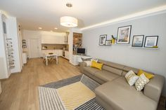 Scandinavian - minimal design furnished home for rent in Budapest, 13.