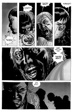 Tainted meat scene from TWD. Best part of The Walking Dead comics so far. Here's to hoping it makes it on the show!!!