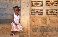Photography | Little African Girl, Gambia