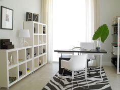 Simple medium size office.