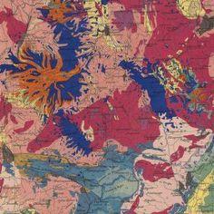 Ministère des Travaux publics. Carte géologique de la France 1/1 000 000 : exécutée en utilisant les documents publiés par le Service de la carte géologique détaillée de la France par un comité composé de [36 scientifiques] (détail)