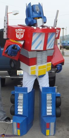 G1 Optimus Prime Costume - Halloween Costume Contest via @costume_works