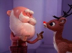"5 Takeaways from The Christmas Classic, ""Rudolph the Red Nosed Reindeer Reindeer can be real a-holes. How else do you explain, ""All of the other reindeer used to laugh and call him names. They neve… Christmas Carol Quiz, Christmas Shows, Christmas Past, Christmas Movies, Vintage Christmas, Christmas Classics, Christmas Specials, Christmas Ecards, Holiday Movies"