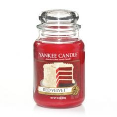 Five Food Inspired Gifts from Yankee Candle - Red Velvet : Large Jar Candle : Yankee Candle