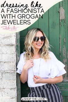 Visit here to see business casual outfits and jewelry on Nashville Wifestyles! If you are looking for business casual outfits for women, then this is the blog post for you! There are really many business casual jewelry accessories options to pair with your business casual dress. Get inspired by the delicate jewelry aesthetic you can recreate to go to work this season. There's nothing more chic than mixing gold jewelry with silver jewelry with your outfit! #jewelry #dress #ad