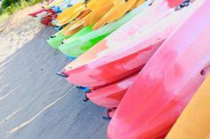 Sea Kayak. Miura-beach,Kanagawa,Japan.