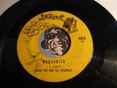 Chuck Rio & Originals - Margarita b/w C'est La Vie - Jackpot #48016 - R&B Rocker - Rock n Roll - Chicano Soul