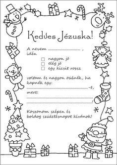 Limitando los regalos: carta a los Reyes ✿ Limiting gifts: letter to Santa Magical Christmas, Winter Christmas, Christmas Time, Gold Christmas Decorations, Christmas Ornaments, Xmas Crafts, Diy And Crafts, Diy For Kids, Crafts For Kids
