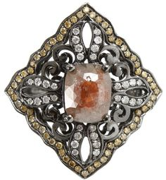 Bochic Yellow Diamond Ring