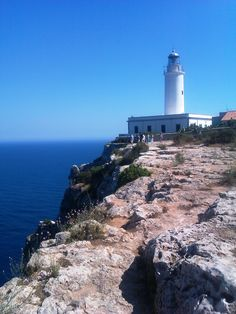 Far de la Mola, Formentera Places Ive Been, Places To Go, Ibiza Formentera, Lighthouse, Beaches, Paradise, Spain, History, Book