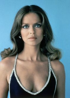 Favorite Bond Girl: The Spy Who Loved Me- Barbara Bach as Maj. Anya  Amasova (1977) I love the dress she wears in this 007 film.