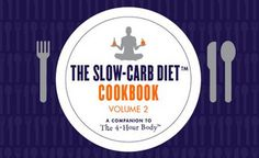 The Slow-Carb Diet Cookbooks™ by timferriss, via Flickrhttp://www.fourhourworkweek.com/blog/category/the-slow-carb-diet/