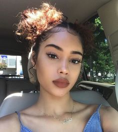 Hair Styles For School Easy Hairstyles For School Inspired Beauty Skin Makeup, Beauty Makeup, Hair Beauty, Curly Hair Styles, Natural Hair Styles, Easy Hairstyles For School, Pinterest Hair, Black Girls Hairstyles, Boy Hairstyles