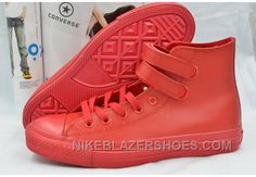 e7196c902ae6 Pure Red Leather CONVERSE Double Velcro Harley CT AS High Cheap To Buy  Xkya2. Leather ConverseRed ConverseConverse All StarLeather High TopsRed  LeatherShoes ...