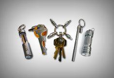 True Utility TU-ESS Key Ring Kit - Vagabonding Travel Gear