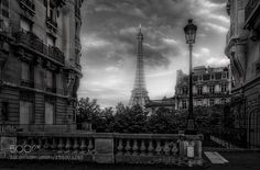 Eiffel Tower Paris by RamelliSerge. Please Like http://fb.me/go4photos and Follow @go4fotos Thank You. :-)