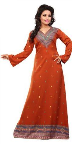 9480861f8956e BombayFashions Women s Long Print Kaftan Abaya Long Sleeve Blouse for only   34.99 You save   64.96
