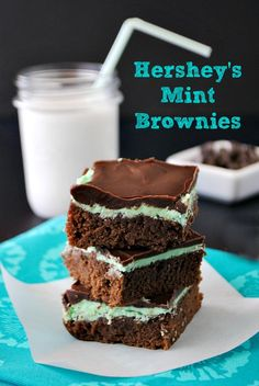 Hershey's Mint Brownies