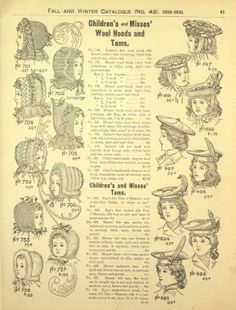 Eaton´s Fall and Winter 1899 - 1900