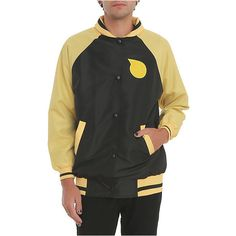 Soul Eater Soul Evans Costume Jacket | Hot Topic (245 BRL) ❤ liked on Polyvore featuring costumes and yellow costume