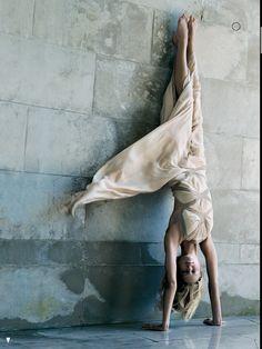 Karolina Kurkova in Vogue US September 2004. Photographer: Steven Meise.