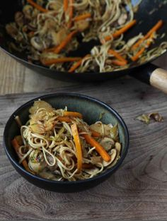 The warming recipe includes a hint of star anise within Chinese five-spice powder that gives this dish character. You can chop and change the vegetables a little depending on what you have in your kitchen – celeriac instead of parsnip, for instance, or shredded cabbage rather than sprouts – but this is a particularly fun way of using Brussels sprouts in a meal.