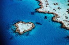 10 isole a forma di cuore per una fuga romantica (con la fantasia)