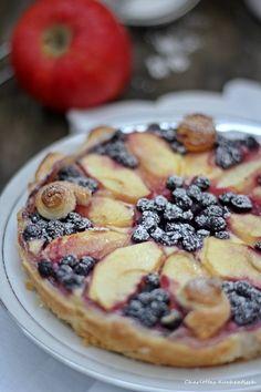 Heidelbeer Apfel Tarte