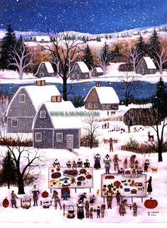 quaint New England