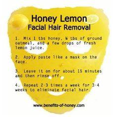 Honey Lemon Facial Hair Removal by misdollface
