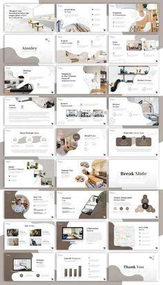 Powerpoint Slide Designs, Powerpoint Design Templates, Powerpoint Background Design, Ppt Design, Ppt Template, Design Portfolio Layout, Architecture Portfolio Layout, Layout Design, Portfolio Ideas