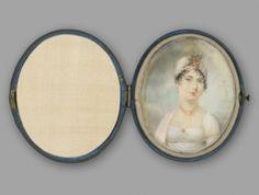 Dolley Payne Madison  c. 1805 -1810  Artist unknown  Yale University Art Gallery