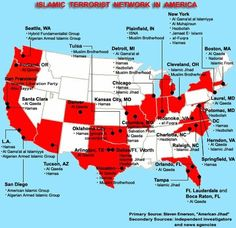 22 Jihad Training Camps in the US - FBI Refuses to Take Action - There are over 22 confirmed terrorist Jihad camps in the U.S. belonging to Jamaat ul-Fuqra, a Pakastan Muslim Brotherhood and Al Qaeda related branch. Now a combined media effort, we find police officers working to double as the compound militia. To top it off, the FBI states that their hands are tied in monitoring their activities despite a training video that is years old, possible murders, and proof of illegal  [...] 07/30