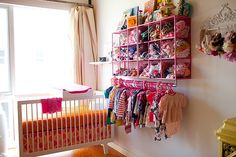 Inspired by this Orange and Hot Pink Southern California Nursery   Inspired by This Blog