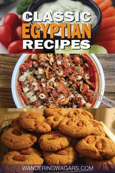 Egyptian food is some of the best in the middle-east. Most of it is nutritious, delicious and full of flavor. So from the national dish of koshari to Egyptian desserts, here are 5 easy Egyptian recipes to make at home. #Egypt #EgyptianFood #EgyptianRecipes #EgyptianRecipesAuthentic #EgyptianRecipesEasy #EasyRecipes #TravelRecipes #TravelforFood #Travel #EgyptTravel #TravelEgypt #ArabicFood #ArabicRecipes #WanderingWagars #GlobalRecipes #RecipesFromAroundTheWorld #AfricanRecipes #MiddleEastFood Egyptian Koshari Recipe, Lentil Soup Recipes, Egyptian Desserts, Egyptian Recipes, Middle East Food, Middle Eastern Recipes, Ancient Egyptian Food, National Dish, Recipes