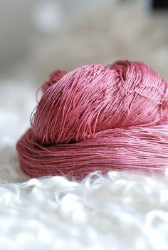 Luxury Iris Lace Pure Silk Yarn - Juno