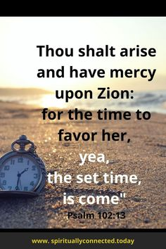 A bible verse about God set time of favor. #favor #blessing #christianliving