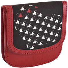OWLrecycled Taxi Wallet - Love Red