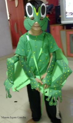 lily pad costume | Frog costume