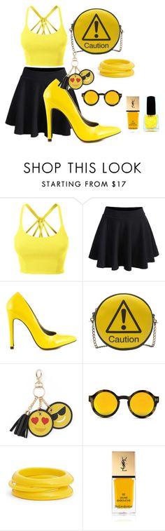 """""""Untitled #192"""" by babyelite on Polyvore featuring LE3NO, WithChic, Michael Antonio, Melie Bianco, Under One Sky, ZENZii and Yves Saint Laurent"""