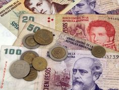the Currency- http://www.xe.com/currency/ars-argentine-peso#/ The Currency in Argentina is called the Argentine Peso. In the U.S, one dollar is worth $7.88 in Argentina
