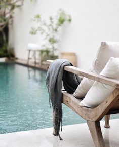 Airbnb villa in Bali, ethnic decor, tropical interior design, villa for rent in Bali, rental in Indonesia Kuta, Outdoor Spaces, Outdoor Living, Outdoor Decor, Outdoor Lounge, Exterior Design, Interior And Exterior, Balinese Decor, Living Pool