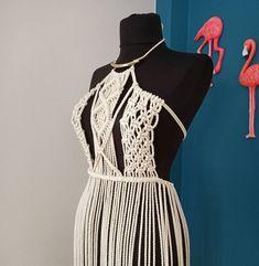 Hippie Festival, Festival Dress, Festival Outfits, Festival Clothing, Boho Hippie, Bohemian Mode, Hippie Dresses, Boho Dress, Macrame Dress