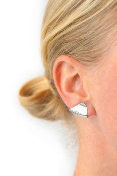 KATRINE KRISTENSEN, Armour Ear Cuff, Silver | Mr. Larkin www.mrlarkin.net