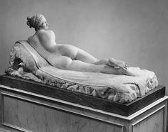 Antonio Canova ( 1757-1822) | Reclining Naiad | Italian, Rome | The Met